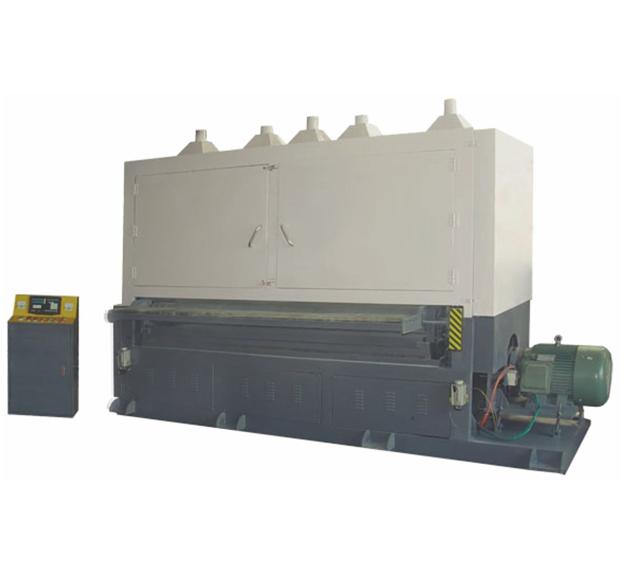 特宽板材砂带自动拉丝机JH-08C3260