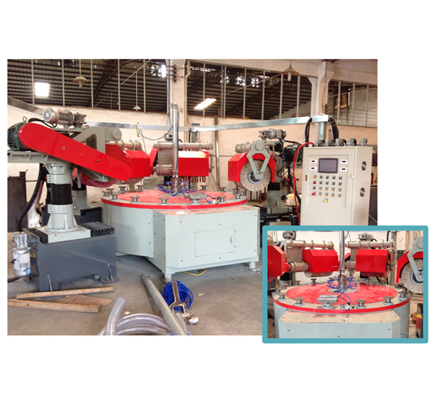 四磨头连续式圆盘抛光机JH-11C104-4DD