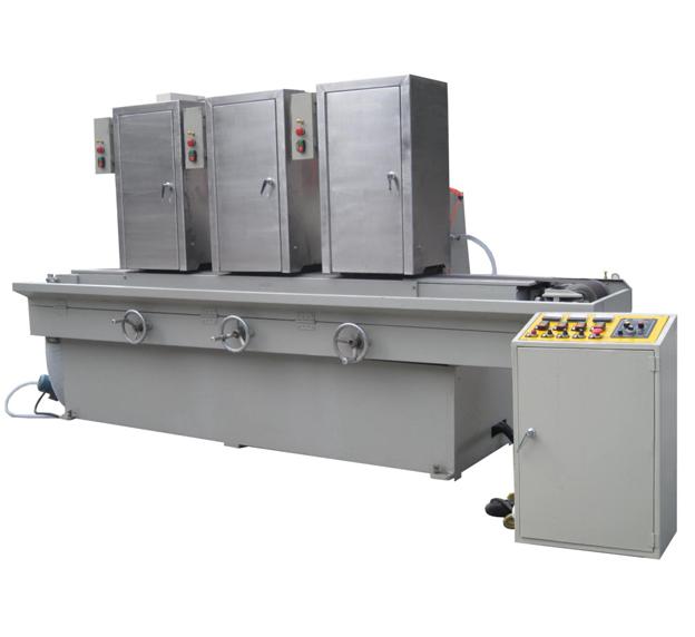 三砂磁铁输送式水磨拉丝机JH-09C315-3SD