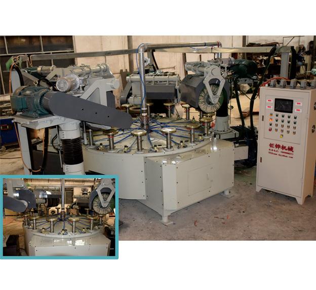 四磨头圆盘抛光机 JH-11C104-4D3