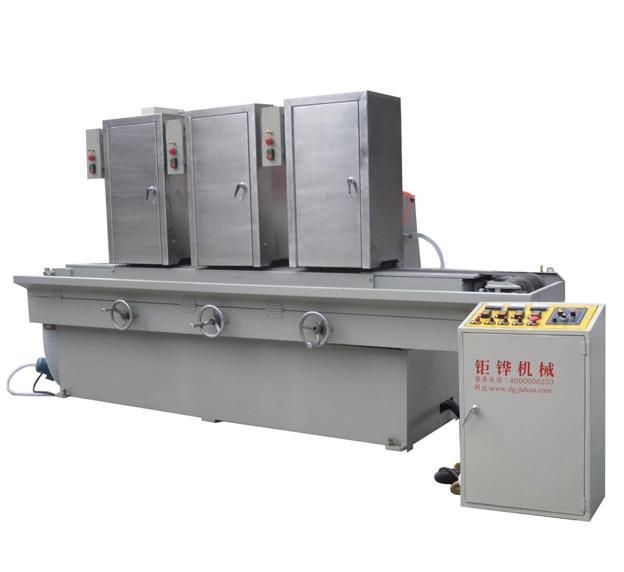 三砂磁铁输送式水磨拉丝机 JH-09C315-3SD