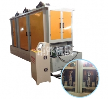 自贡五砂自动板材砂带拉丝机JH-08C340-4S-Z