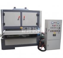 自贡双砂带板材自动拉丝机