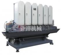 六砂输送带水磨拉丝机 JH-09C315-6S