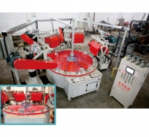 四磨头连续式圆盘抛光机 JH-11C104-4D1