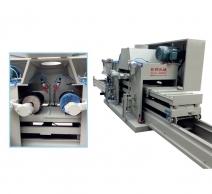 型材6米双磨头自动平面抛光机 JH-07C170-2L-6M